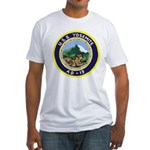 USS Yosemite (AD 19) Fitted T-Shirt