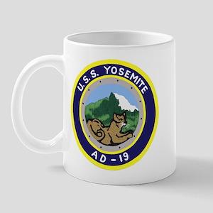 USS Yosemite (AD 19) Mug