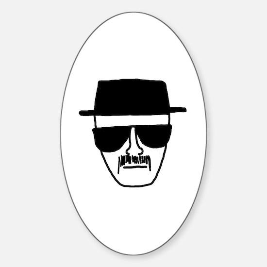 Heisenberg Sticker (Oval)