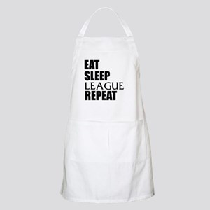 Eat Sleep League Repeat Apron