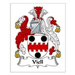 Viell Family Crest Small Poster