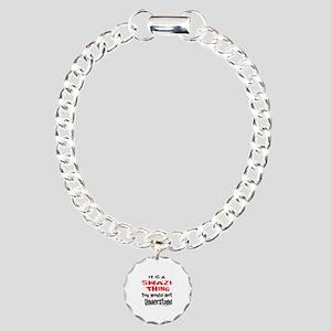 It Is Swazi Thing Charm Bracelet, One Charm