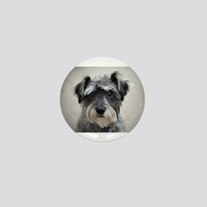 Schnauzer Mini Button