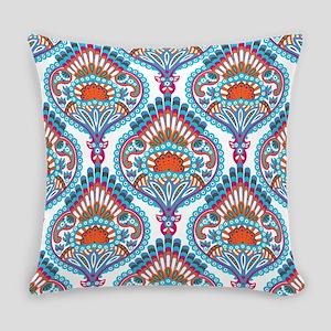 Ornate Paisley Pattern Everyday Pillow
