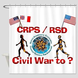 CRPS RSD Civil War to ? Shower Curtain