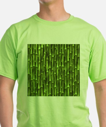 Green Bamboo Forest T-Shirt
