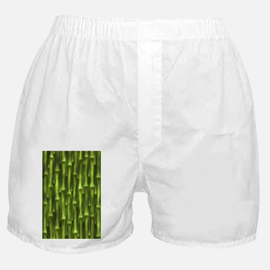 Green Bamboo Forest Boxer Shorts