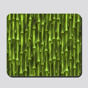 Green Bamboo Forest Mousepad