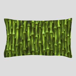 Green Bamboo Forest Pillow Case