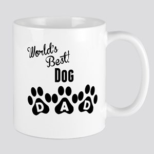 Worlds Best Dog Dad Mugs