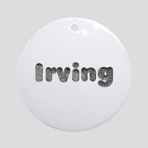Irving Wolf Round Ornament