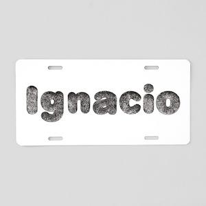Ignacio Wolf Aluminum License Plate