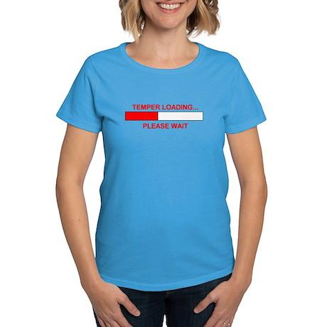 TEMPER LOADING... Women's Dark T-Shirt