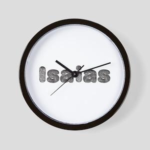 Isaias Wolf Wall Clock