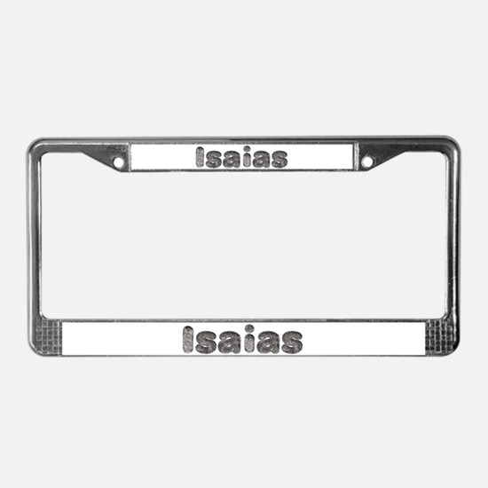 Isaias Wolf License Plate Frame