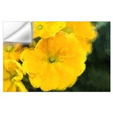 Yellow Pansy Wall Decal