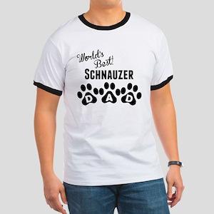 Worlds Best Schnauzer Dad T-Shirt