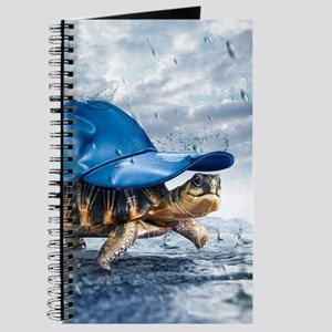 Turtle With Cap Journal