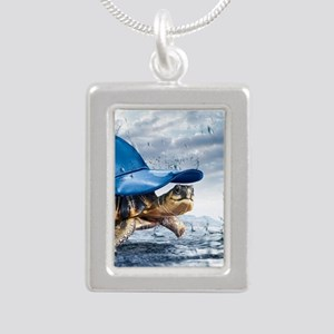 Turtle With Cap Necklaces