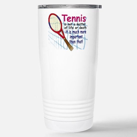 Tennis is a matter ... Mugs