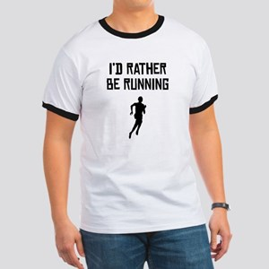Id Rather Be Running T-Shirt