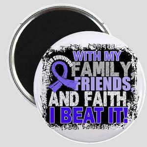 Esophageal Cancer Survivor FamilyFriendsFai Magnet