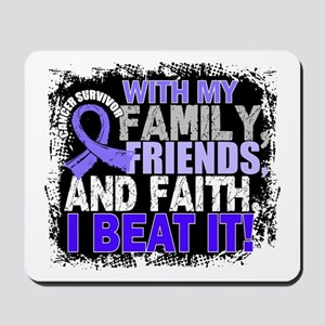 Esophageal Cancer Survivor FamilyFriends Mousepad