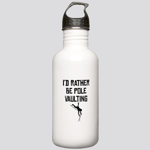 Id Rather Be Pole Vaulting Water Bottle