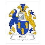 Vane Family Crest Small Poster