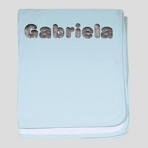 Gabriela Wolf baby blanket