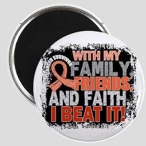 Endometrial Cancer Survivor FamilyFriendsFa Magnet