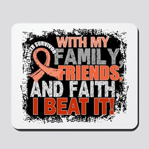 Endometrial Cancer Survivor FamilyFriend Mousepad
