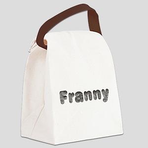 Franny Wolf Canvas Lunch Bag