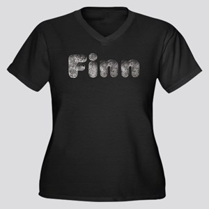 Finn Wolf Plus Size T-Shirt