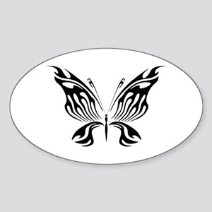 BUTTERFLY 2 Oval Sticker