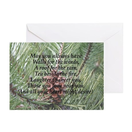 Irish Christmas Blessing Greeting Cards (Pk of 10)