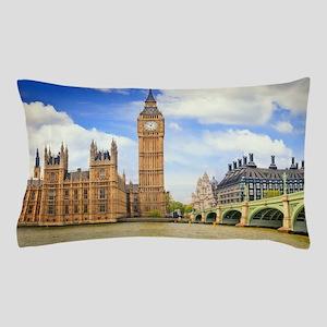 London Bridge And Big Ben Pillow Case