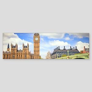 London Bridge And Big Ben Bumper Sticker