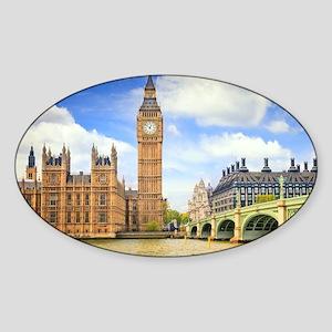 London Bridge And Big Ben Sticker