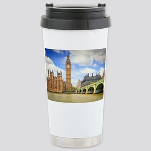London Bridge And Big Ben Travel Mug