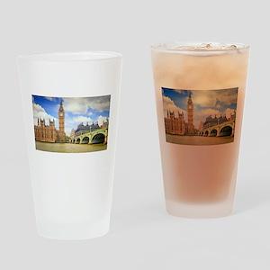 London Bridge And Big Ben Drinking Glass
