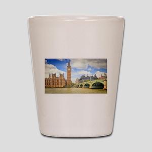 London Bridge And Big Ben Shot Glass