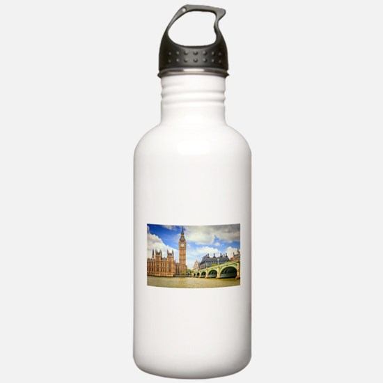 London Bridge And Big Ben Water Bottle