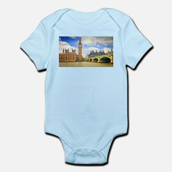 London Bridge And Big Ben Body Suit