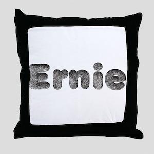 Ernie Wolf Throw Pillow