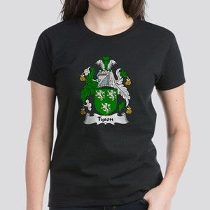 Tyson Family Crest Women's Dark T-Shirt
