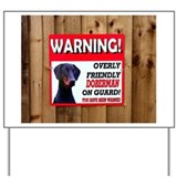 Doberman Yard Signs