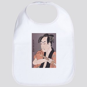 Ukiyoe Kabuki Samurai Bib