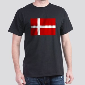 Danish Flag Dark T-Shirt