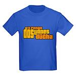 Yo Pongo Dos Liones Kids Dark T-Shirt